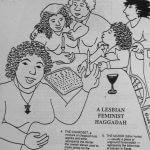 A Lesbian Feminist Haggadah: Our 10th Seder, 1991 (Cover Art by Judith Masur)