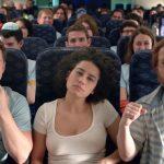 "Ilana Glazer, center, in the Broad City episode ""Jews On A Plane"" (Photo: Comedy Central)"