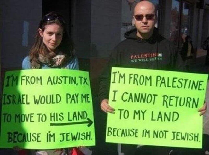 Anna Baltzer and Haithem El-Zabri, founder of the Palestine Online Store. Austin, TX, November 2008.