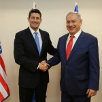 Paul Ryan meets Netanyahu