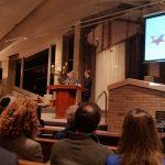 David Horovitz at AIPAC event at Temple Israel in Westport, CT