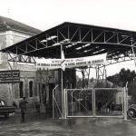 Mandelbaum Gate on 1949 armistice line in East Jerusalem