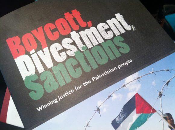 A BDS pamphlet