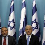 Benjamin Netanyahu and Avigdor Lieberman in 2012 (Photo: REUTERS/Baz Ratner)