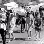 Palestinians forced off their land during the establishment of Israel