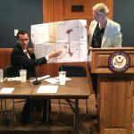 El-Atrash at the Senate (with the author)