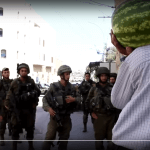 Hebron man with watermelon stopped by Israeli soldiers
