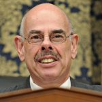 Former Rep. Henry Waxman, D-Calif., waits to start a hearing in D.C. in 2008. (AP Photo/Susan Walsh)
