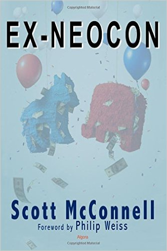 Cover of Scott McConnell's new book, Ex-Neocon