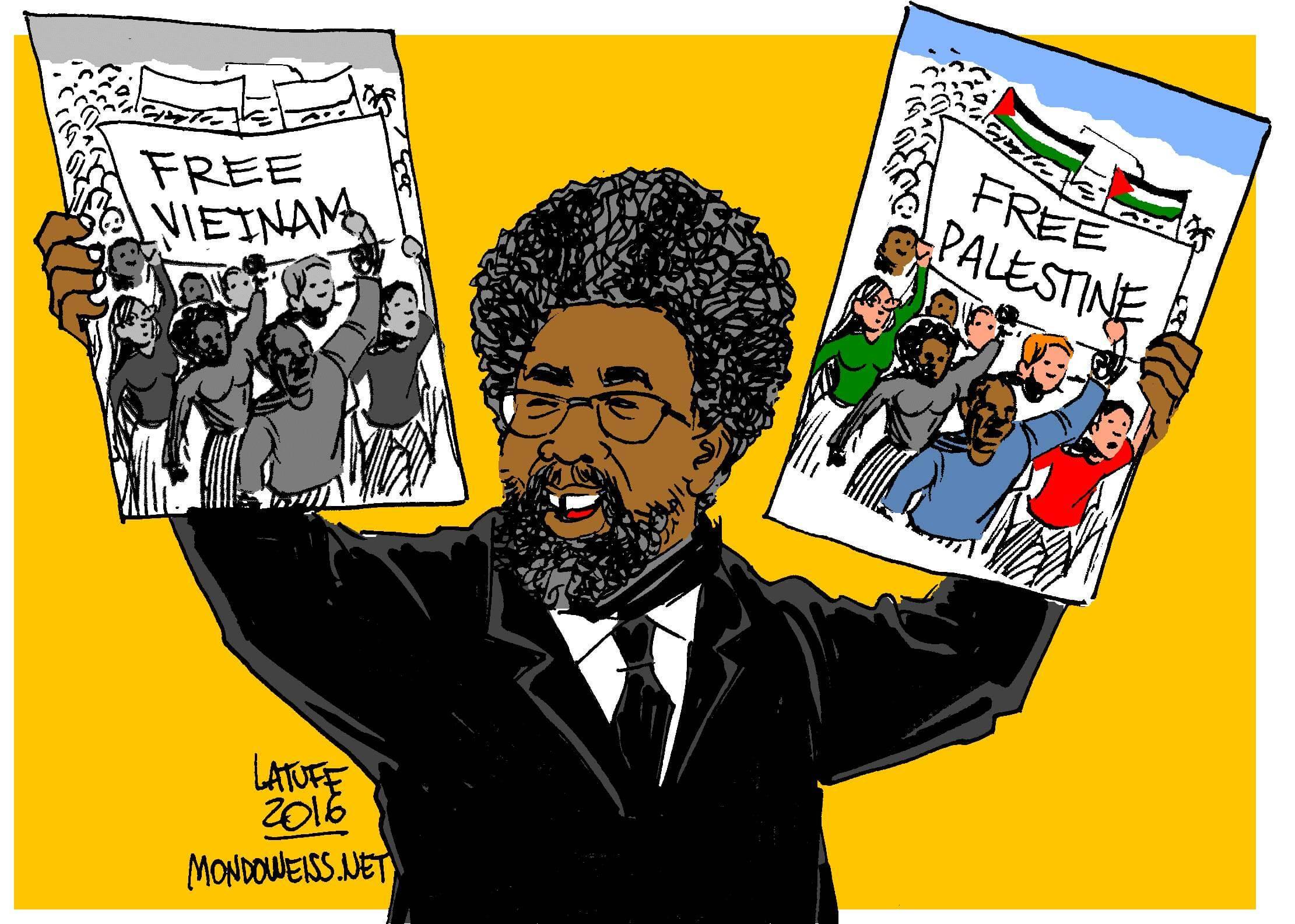Cornel West (Image: Carlos Latuf)f