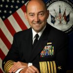 Retired admiral James Stavridis is now a dean of international school at Tufts and a neoconservative darling