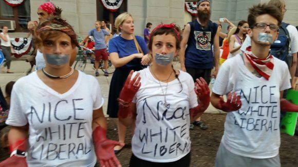 Bloodstained hands of liberals