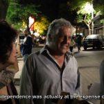 Talking to Jewish Israelis about the Nakba. (Video screenshot: De-Colonizer)