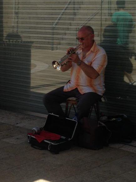 Jerusalem saxophonist