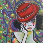 Painting by Malak Mattar