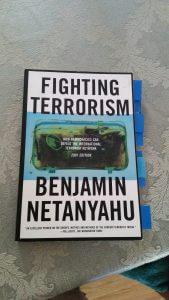 Todd Pierce's copy of Netanyahu's tract on terrorism