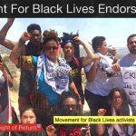 Movement for Black Lives endorses BDS