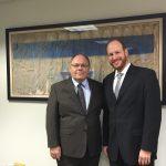 Dani Dayan meets with NY City Councilman David Greenfield