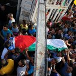 Funeral of Iyad Zakaria Hamed, from PalInfo