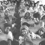 Yemenite Jews en route from Aden to Israel, 1949–1950. (Photo: Wikimedia)