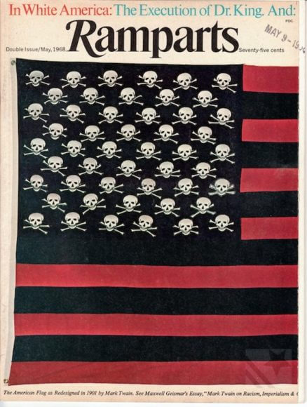 Ramparts Magazine, May 1968 cover