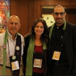 Albert Asfour, Anna Baltzer, Pastor Kahder Khalila  (photo: Christopher Hazou)