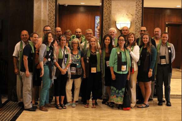 Isaiah 58 and allies at 2016 ELCA Churchwide Assembly (photo: Christopher Hazou)