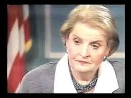 Madeleine Albright on 60 Minutes