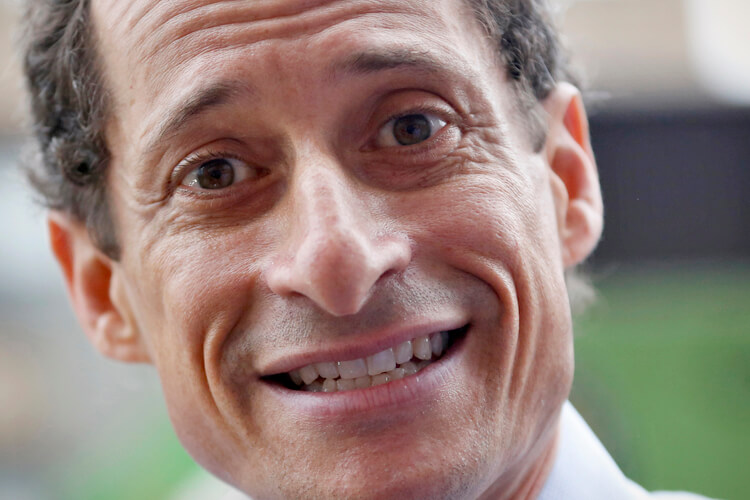 Former U.S. Congressman and New York City mayoral candidate Anthony Weiner, May 2013. (Photo: REUTERS/Brendan McDermid)