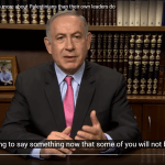 Benjamin Netanyahu declares that he cares more about Palestinians than their leaders