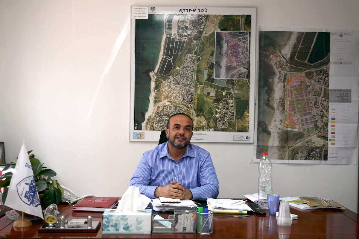 Jisr al-Zarqa mayor Morad Amash (Photo: Skylar Lindsay)