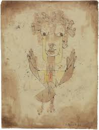 Angelus Novus, by Klee, in the Israel Museum