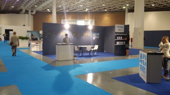Israel's Watec Italy 2016 exhibition plagued by empty booths and corridors. Photo: Stephanie Westbrook