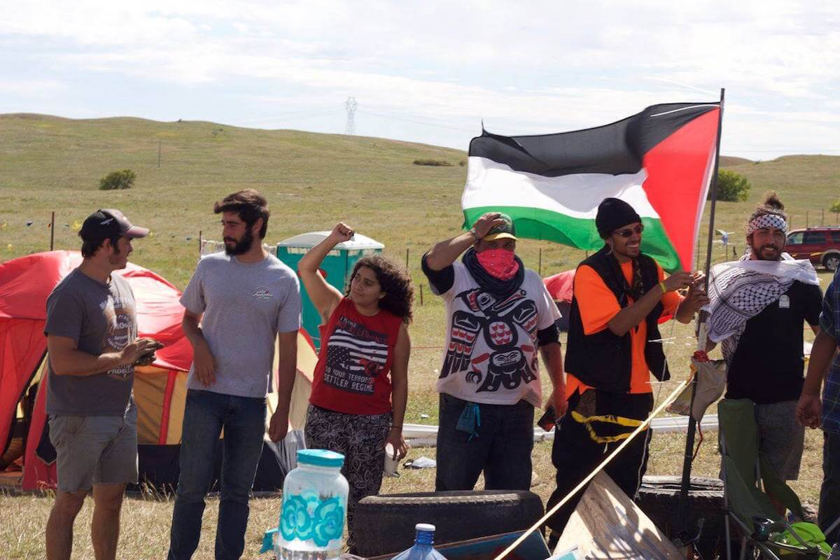 PYM Caravan at Standing Rock (Photo: Awad Yasin)