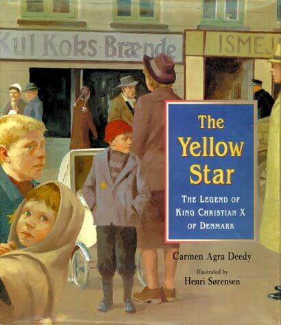 "A picture book titled ""The Yellow Star"""
