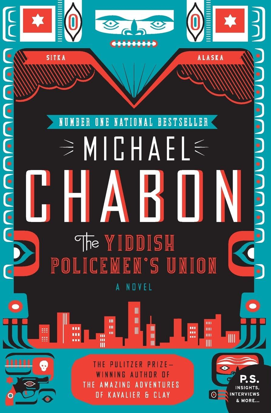 "Cover of ""The Yiddish Policemen's Union."""