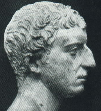 Josephus, bust made by Romans