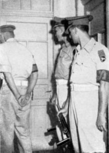 1952: The IDF militarily commandeers the UN office dedicated to peace-keeping along the Armistice Line in order to block the exposing of its violations. (See Suárez, State of Terror, 301-303.) Photo: John Scofield