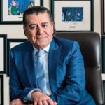 Haim Saban in his Los Angeles offices, March 2017