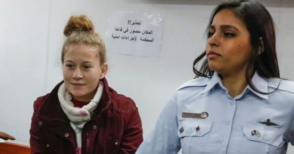 Liberal Zionists have nothing to say about Ahed Tamimi's