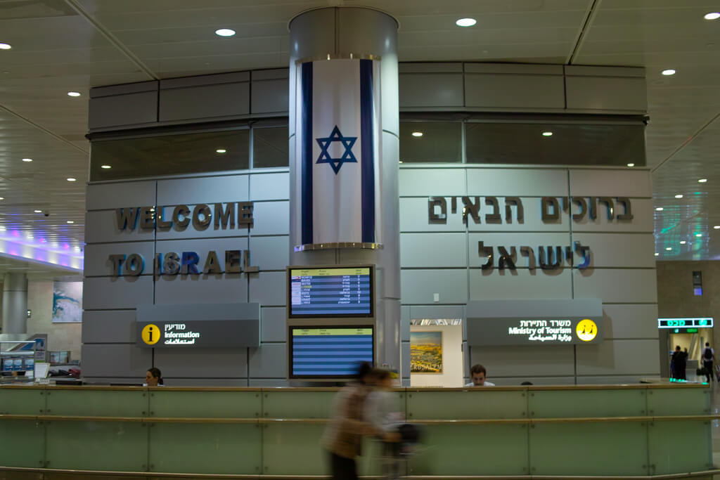 Ben Gurion airport. (Photo: llee_wu/Flickr)