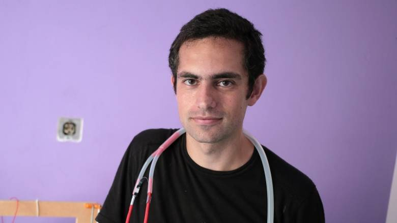 Dr. Tarek Loubani, a physician from London, Ont., was treating gunshot wound patients in Gaza when he became one himself. (Khalil Hamra/Associated Press)