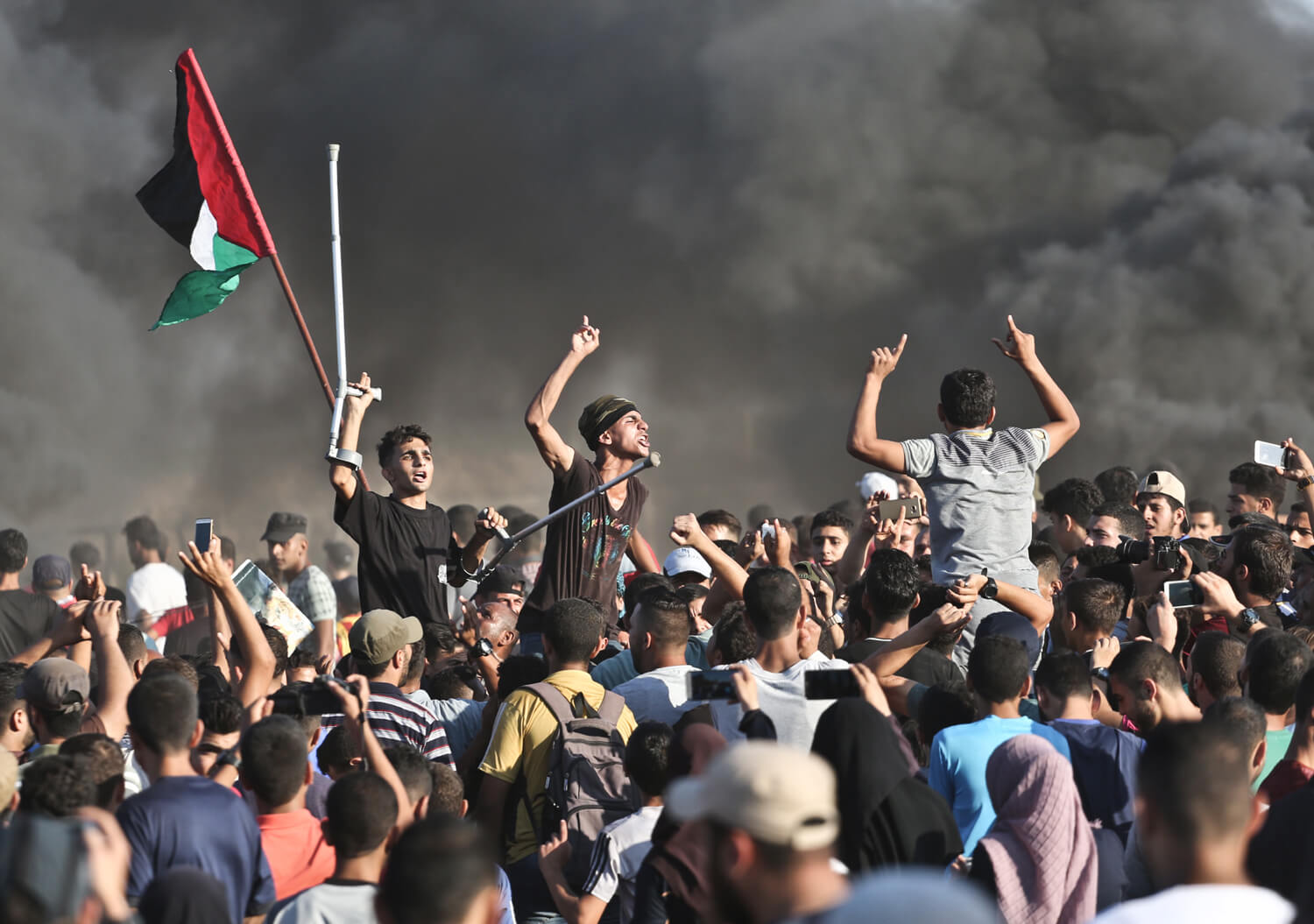 The Great March of Return in Gaza, August 10, 2018