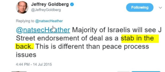 Benjamin Netanyahu's Israel was brought to you by Jeffrey