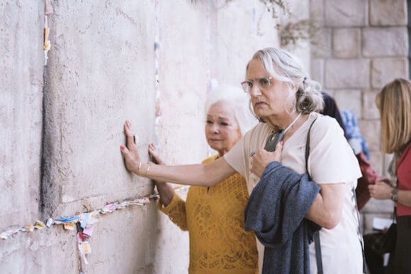 "This scene from season four of the award-winning television show ""Transparent"" was shot in Los Angeles instead of East Jerusalem after intervention from BDS activists."