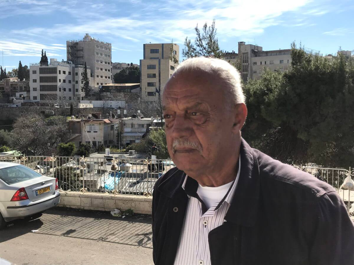 Mohammad Sabbagh has lived in Sheikh Jarrah since 1956.