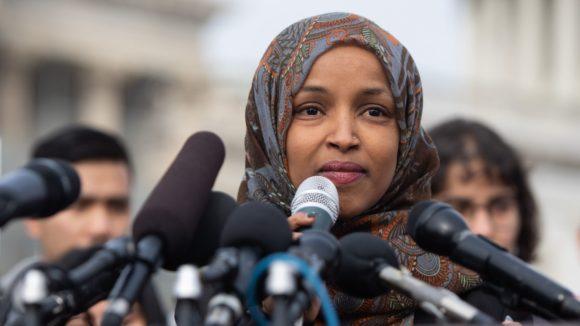 Rep. Ilhan Omar. (Photo: Saul Loeb/AFP/Getty Images)