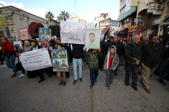 Ramallah city, West Bank, March 26, 2019.