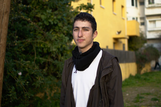 Israeli conscientious objector Roman Levin. (Photo: Mesarvot)