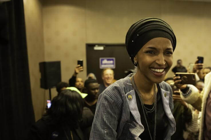 Democrats are now officially split on Israel, and we can thank Ilhan